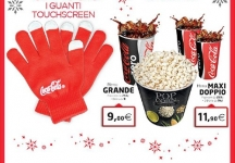 Coca-Cola e UCI Cinemas ti premiano con i guanti touch screen!