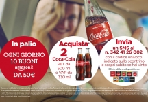 At Autogrill buy and win with Coca Cola