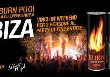 With Burn win a weekend for 2 in Ibiza!