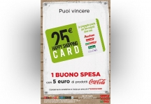 With Auchan and Coca-Cola you get a shopping voucher of the value of 25 €!