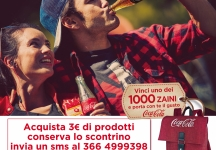 Win a backpack with Coca-Cola!