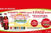 Go to Mirabiandia with My Chef and Coca-Cola!