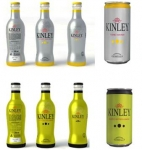 Sibeg launches in Sicily the limited edition Kinley Full Body Sleeve glass bottle.