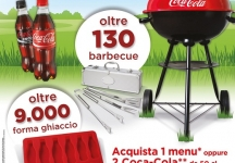 Win your barbecue and shape for the ice with Coca-Cola and MyChef!