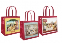 With Coca-Cola you can get the useful and colorful Shopper