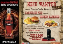 Win every day an Xbox 360 with Kinect with Coca-Cola and Old Wild West!
