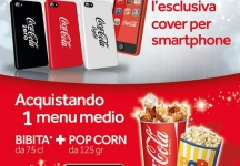 Coca-Cola and UCI Cinema give you the exclusive smartphone cover by Coca-Cola!