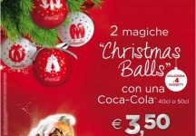This Christmas, decorate your tree with magic Coca-Cola balls !