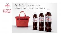 COCA - COLA LIGHT MARC JACOBS COLLECTION ARRIVES IN ITALY