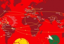 "From 19th to 21st of February, Rome will host the unique Italian stop of the ""FIFA World Cup ™ Trophy Tour 2014"""