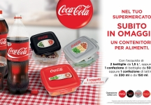 Buy Coca-Cola and immediately receive 1 Coca-Cola branded food container in 3 different graphics.