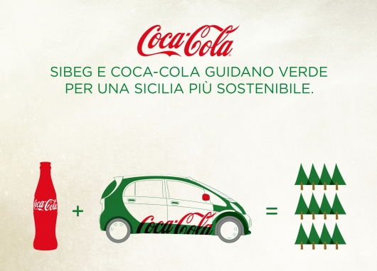 SIBEG AND COCA-COLA DRIVE GREEN FOR A MORE SUISTAINABLE SICILY.