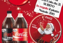 Coca–Cola gives you the Christmas plate!