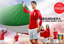 Become a flag bearer for Italy in the UEFA Euro 2016!